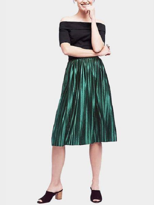The Most Versatile Pleated Skirt Is Something You Are ...